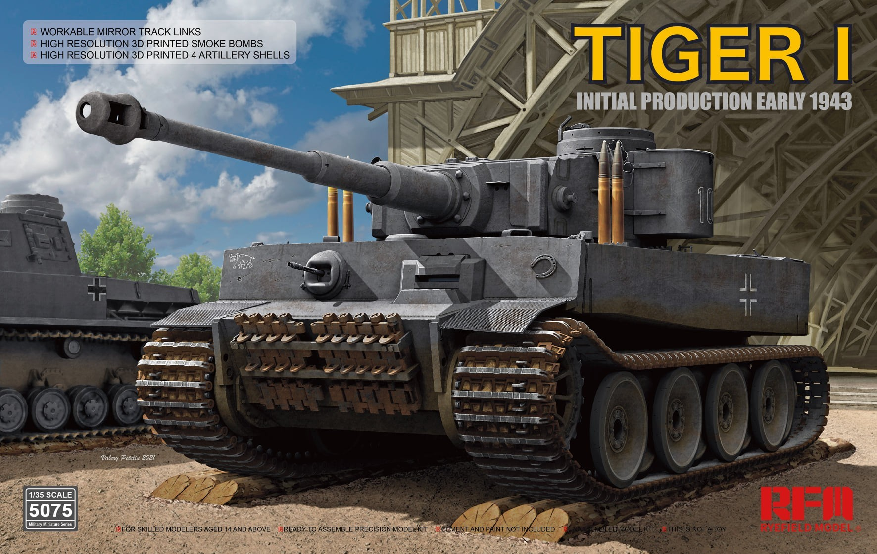 RM-5075. Tiger I 100# initial production early 1943